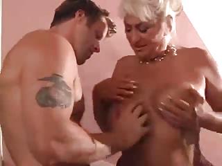 woman seducing a fresh male