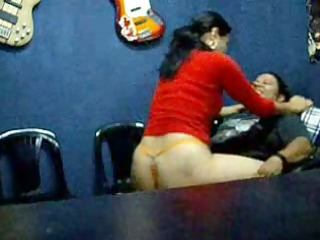 fortunate man gangbanged a awesome older babe