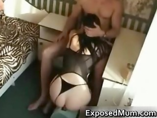 mommy gives incredible blowjob for kicks part3