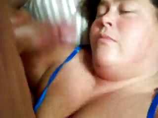 mature girl give head (bbw)