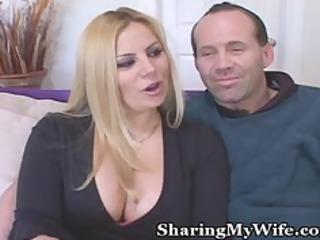 chubby wifey fulfills wish of black cock