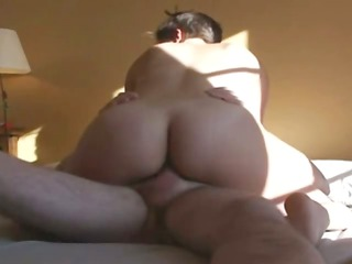 my french lady rides my penis