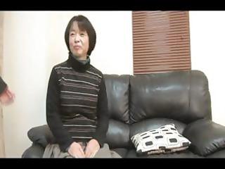 49yr old granny tomoe nakamachi gang-banged