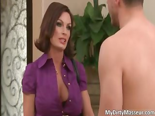 super brunette mature girl with giant bosoms part3