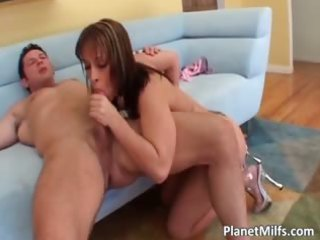 busty tattooed redhead lady obtains her part6