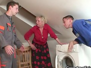 granny offers her vagina as a payment