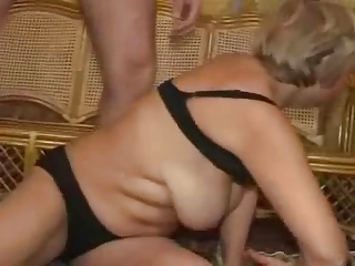 elderly slut