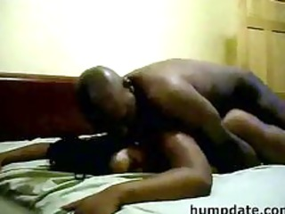 bootylicious dark slut with giant breast obtains
