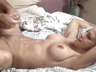 mature housewife drilling man