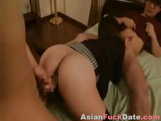 lover and boyfriend bang eastern wife