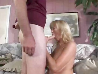 mature curvy blond rheina shine