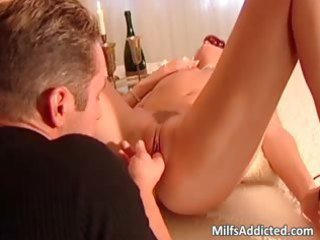 bath fuck with sexy blonde cougar girl whose part3