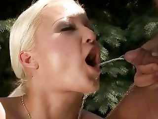 grandpa gangbanging and pissing on sweet blond