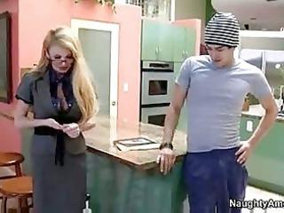 extremely impressive desperate woman teacher tina