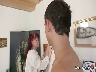 she likes painting and hard cocks