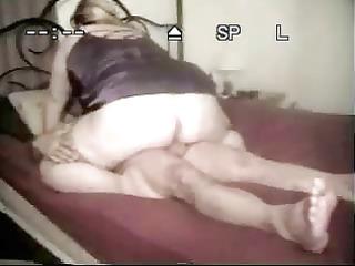 wife banging inside pantyhose