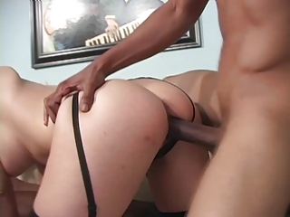 hot woman takes bbc sperm &; facial