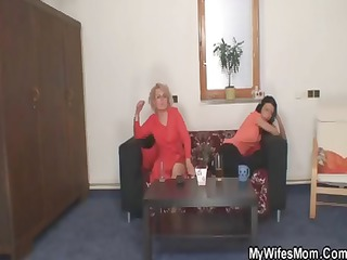 albino milf finds her daughters friend trying to