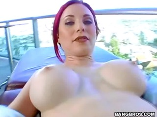 red-haired beauty milf slut arse pierced