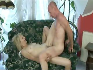 albino hirsute granny