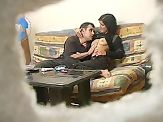 inexperienced turkish maiden with russian boy