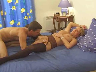 desperate french babe enjoys young dick by troc