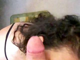grownup slut sucks cock and balls