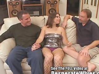 dana fulfills her bitch woman mfm triple way