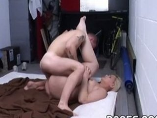 chubby mom drilled into the garage