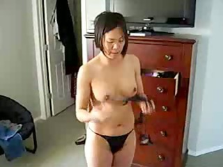 desperate chinese lady exposes titght figure