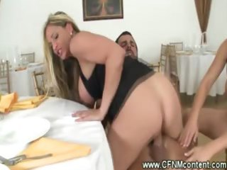 cfnm ladies have a cock riding group sex