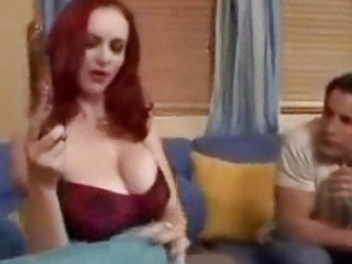 ginger grown-up babe ms berlin seduces more