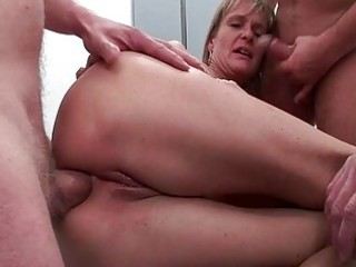 butt fucked mature amp gets five stiff libidos