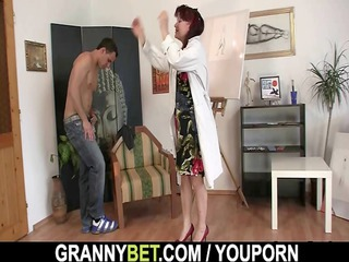 dick hungry older paintress acquires it from