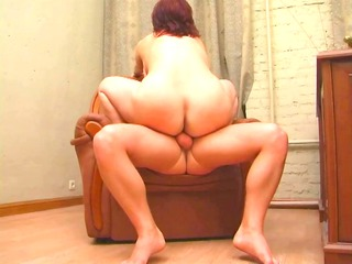 redhead fat mature mother