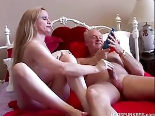 sweet big tits milf worships to drill