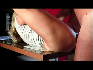 cougar cheating maiden came to visit and fucked