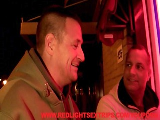 gang-banging a hooker into the red light district