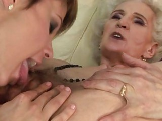 granny teasing homosexual belle copulate