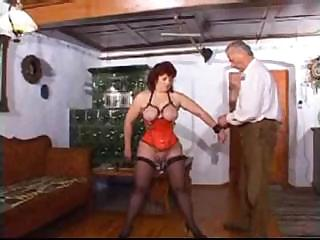 cougar lady has banged nipples and kitty into