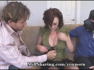 chick embarrasses sissy hubby