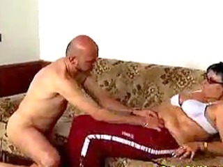 desperate granny mom obtains banged uneasy and