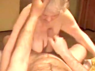 having fun with a enormously elderly german bitch