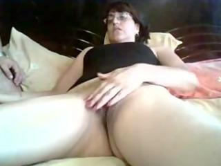 chubby lady whore masturbation video