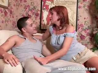 older super lady into a first porn ejaculate