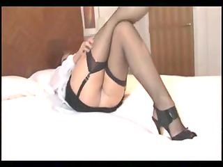 crissy - a hawt aged in pantyhose