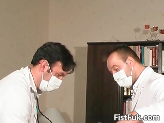 watch these two slutty doctors as they
