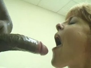 grown-up likes dark cock huge facial