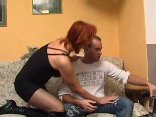 ginger mature gang-banging