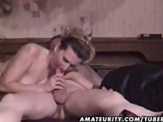 grown-up amateur couple unmerciful action